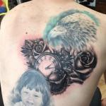 Rachelmarleytattoo - pocket watch gap filler back