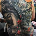 sean crane buddha and dragon back piece