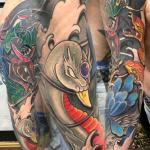 sean crane swan animal sleeve